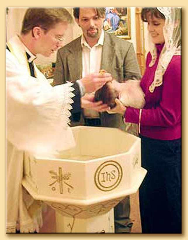 santo battesimo