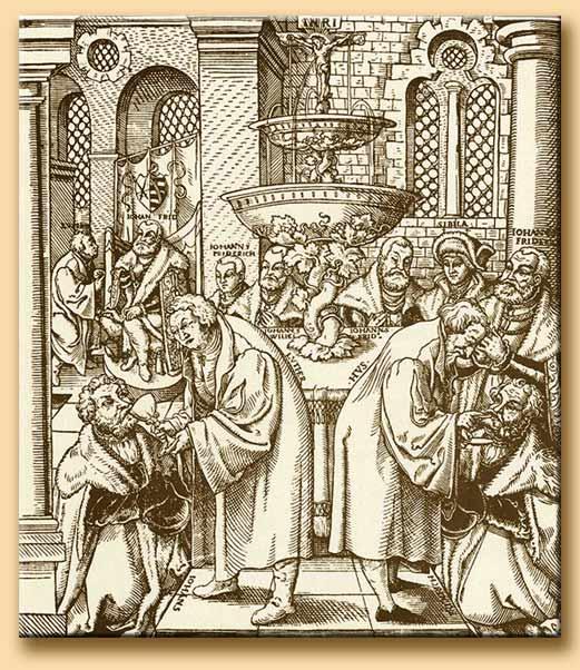 la messa di lutero