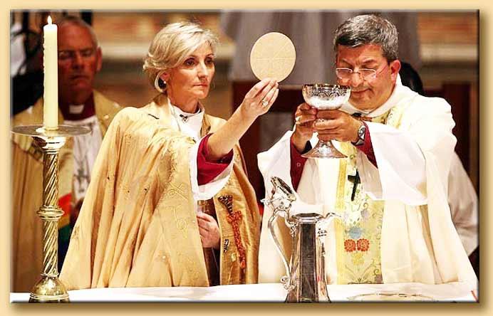 santa cena anglicana