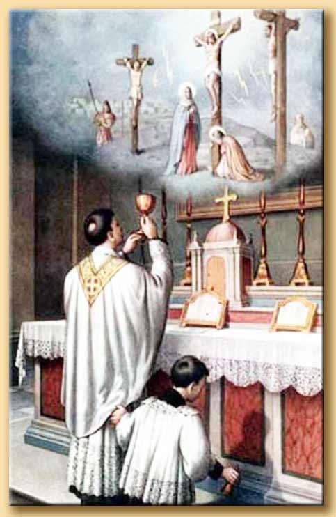 santo sacrificio della messa