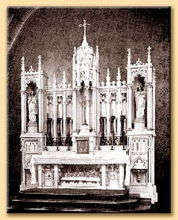 altare cattolico