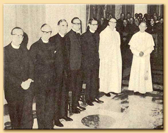 osservatori protestanti con paolo VI