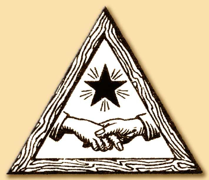 droit humain - triangolo massonico