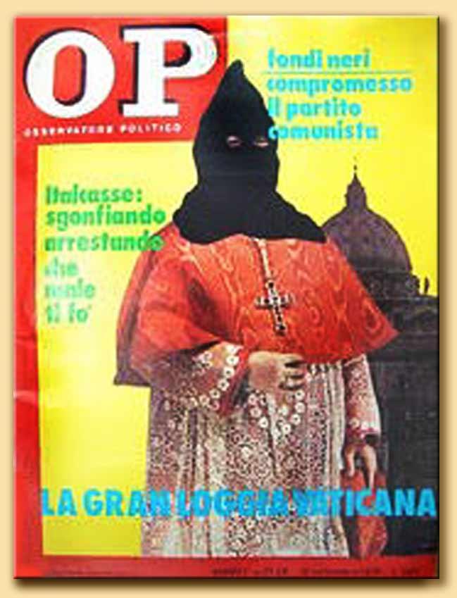 osservatore politico - la gran loggia vaticana