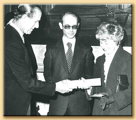 chiara lubich riceve il premio templeton